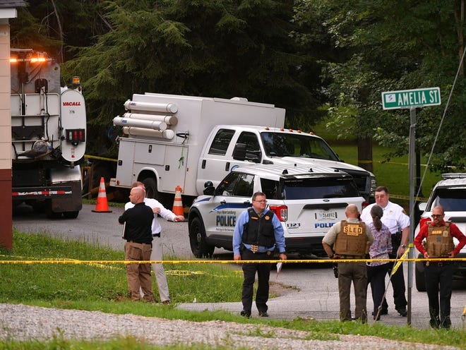 Officers and investigators with the Spartanburg Police Department, Spartanburg County Sheriff's Office, and SLED, were at the scene of standoff and multiple shooting near Cleveland Park Drive and Amelia Street in Spartanburg on July 1.