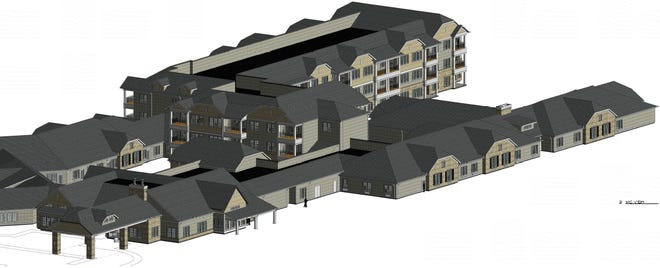 Quincy Place Senior Living will take more than 20 months to complete, opening to residents in spring 2023. Of the 154 units, 60 will focus on independent living.