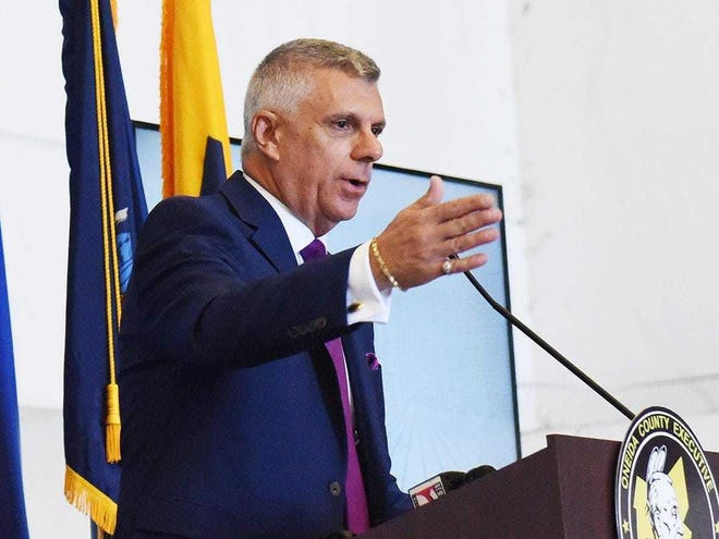 Oneida County Anthony Picente Jr. on Friday lifted coronavirus-related executive orders that were put into place early last year.
