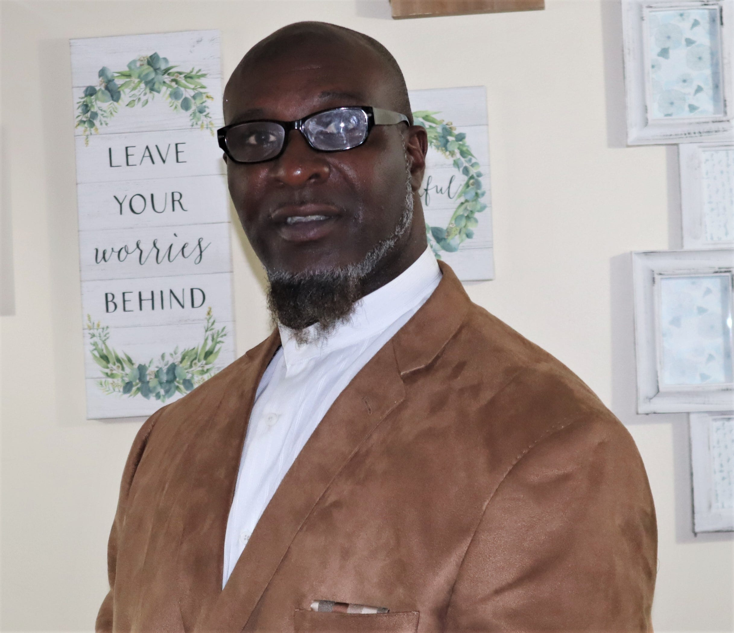 Donnell Wright, co-creator of InnerVizion Empowerment Center in Springfield.