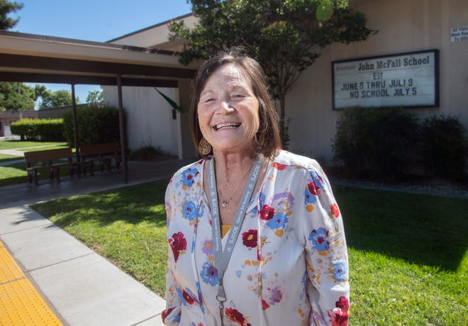 Manteca Unified School District LVN Pamela Wampler has been named the California Classified Employee of the year in the health and student services category.