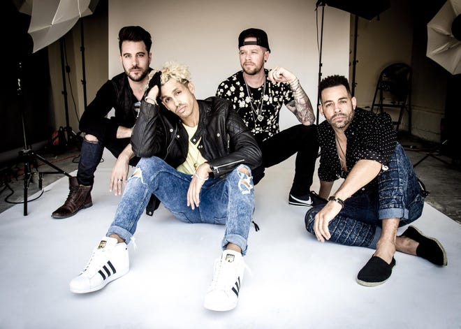 O-Town, a boy band that gained fame in the early 2000s, is performing Sunday at The Auricle in downtown Canton. Other acts will be Ryan Cabrera and LFO.