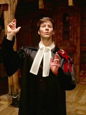 """Thayne Jasperson, who plays Samuel Seabury and other characters, returns to the Broadway production of """"Hamilton"""" in September as the sole remaining original cast member."""