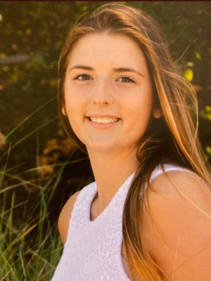 Katie Robinson, a 20-year-old woman who passed away in a car accident last month.