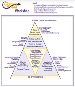 A graphic explains the program's process.