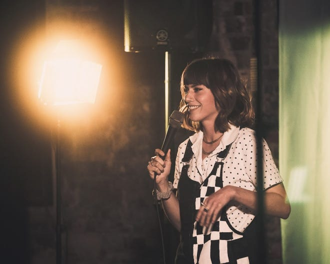 Wilmington comic Julia Desmond is a rising star on the Wilmington stand-up scene.