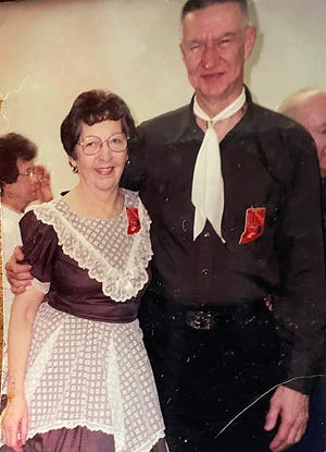 Square dancers Janet and Larry King's phot can be found among the pictures in the square dance exhibit. Larry is a former museum president and vice president, who along with Janet, helped to create the outstanding museum facility that exists today. In 2018, they were awarded the Lifetime Achievement Award for their many decades of immeasurable dedication to the museum.