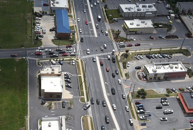 Tuscaloosa city officials are looking to regain oversight over 15th Street to help facilitate economic development projects, such as the one planned for the intersection of Hackberry Lane and 15th Street. [Staff file photo/Erin Nelson]