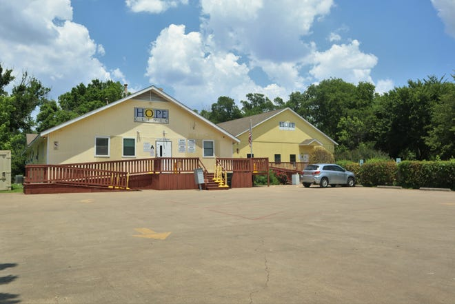 An exterior view of the non-profit Hope Clinic in Waxahachie. The Ellis County Commissioners' Court on Tuesday voted to continue to recommend the clinic as a federally-qualified health provider to low-income residents.