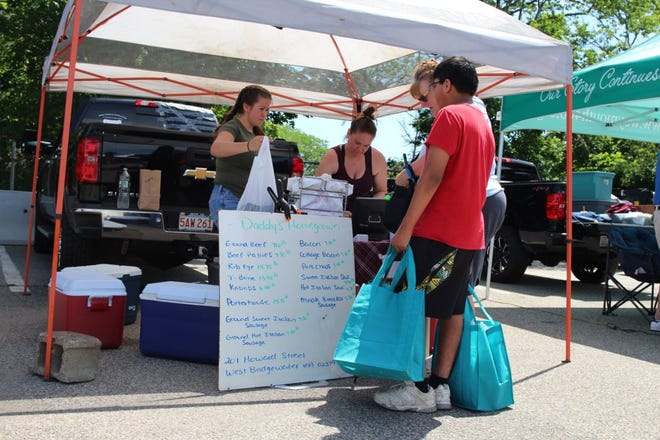 Beef is among the new products being sold at the weekly Weymouth Farmers Market by Daddy's Homegrown. {Courtesy Photo]