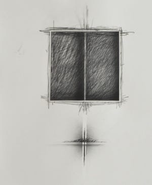 """""""34/43,"""" graphite and ink, from the series """"The Return,"""" 2015-2017"""