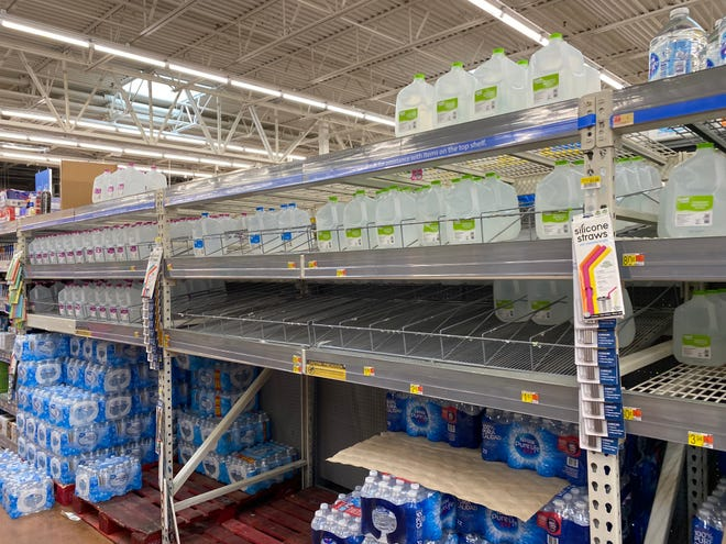 Despite its presence in the five-day trajectory cone for Hurricane Elsa, Southwest Florida hasn't yet started flocking to grocery and hardware stores or gas stations to stock up on necessary supplies as of Friday morning. The Walmart on Immokalee Road has plenty of bottled water.