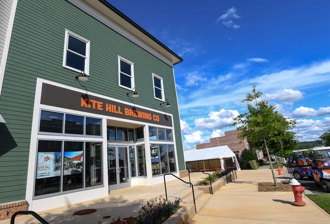 Kite Hill Brewing Company at Patrick Square in Clemson on Thursday.