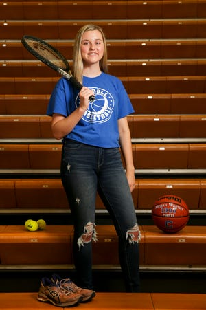 Carroll's Megan Wagner is the 2021 Journal & Courier female student-athlete of the year.