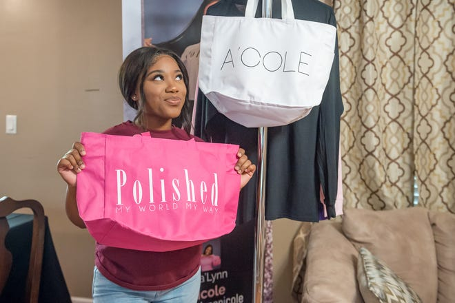 Asia'Lynn Harris is a 17-year-old entrepreneur and incoming senior at Abbeville High School who has created two clothing lines being featured in local fashion shows.