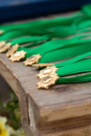 Girl Scouts Gold Award pins
