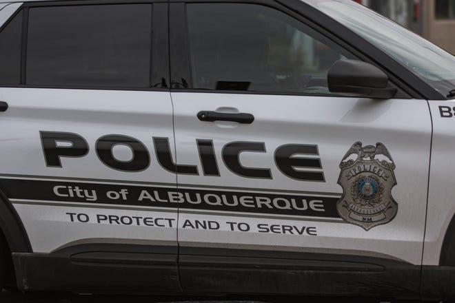 Albuquerque police are pictured on June 30, 2021.