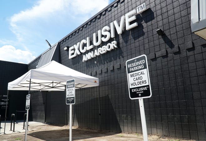 Exclusive cannabis dispensary location in Ann Arbor. Exclusive sells both cannabis for medical card holders and recreational users.