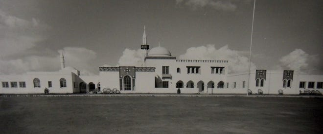 The original Arizona State Tuberculosis Sanitarium, designed by Edward Morgan, pictured circa 1934.