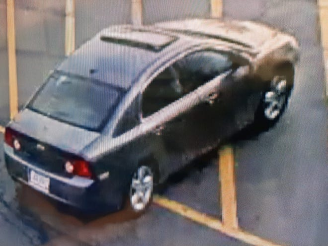 The suspect vehicle in a hit-and-run crash that seriously injured a 16-year-old bicyclist is believed to be a Chevrolet Malibu with Ohio registration.