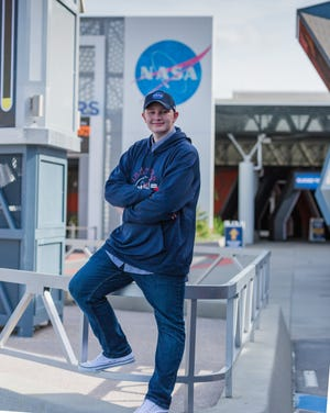 Connor McFarlin acknowledged that studying is important, but he credited his involvement in the SJPII aerospace program for giving him the confidence and motivation to excel in school.