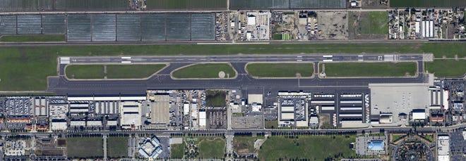 Oxnard Airport runway