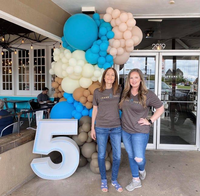 Frank & Joe's Coffee House founders are Carol Murray, left, and Jessica Edwards.