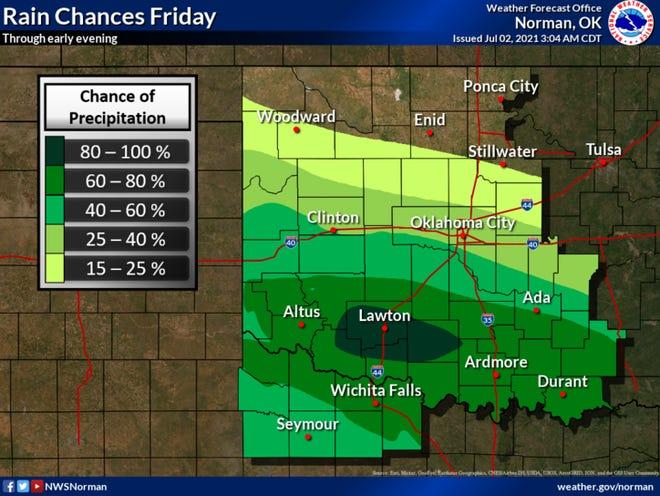 Rain stays in area forecast through Thursday