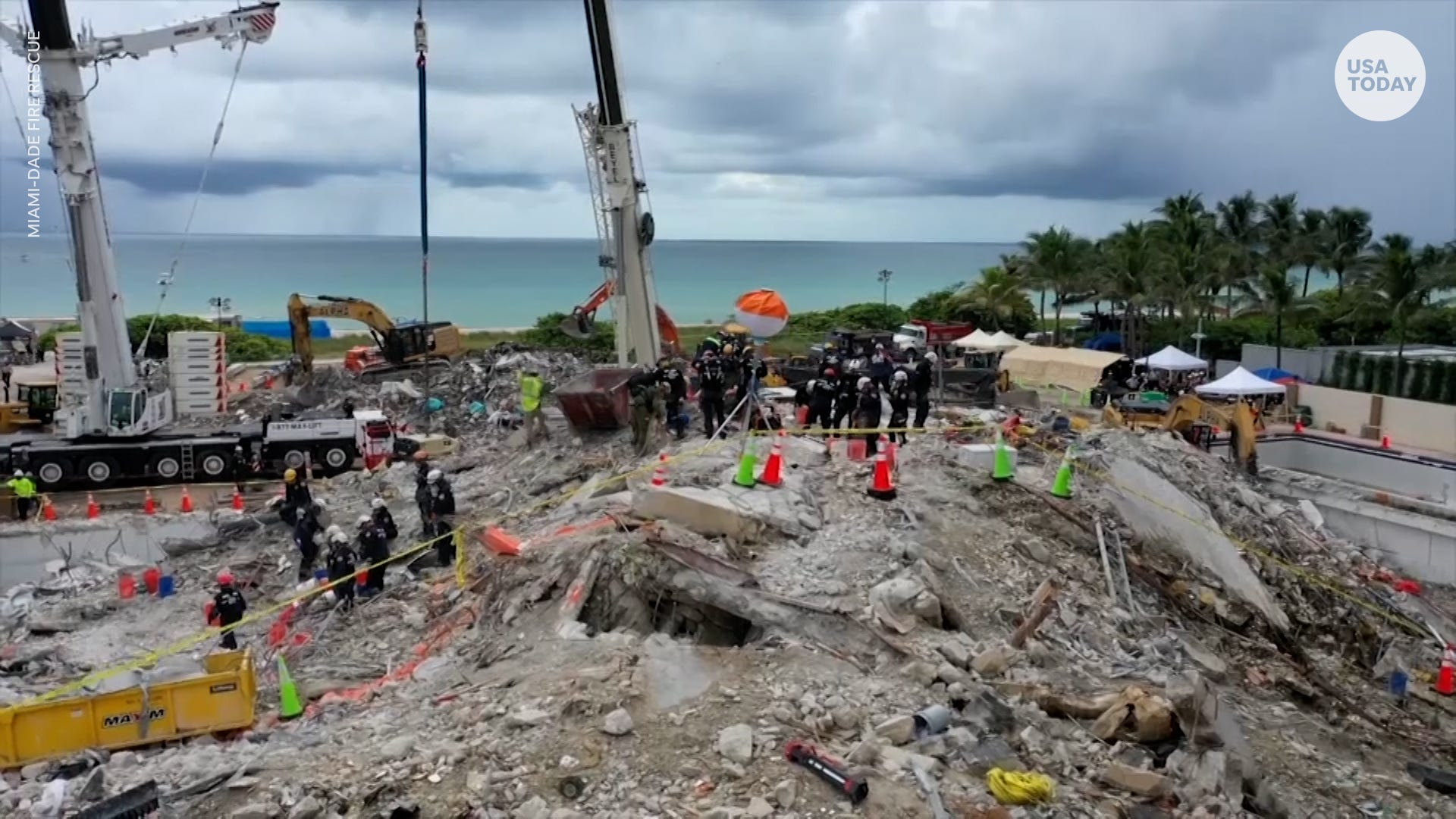 We will not rest : Second condo tower evacuated in wake of collapse; audit of buildings underway in South Florida