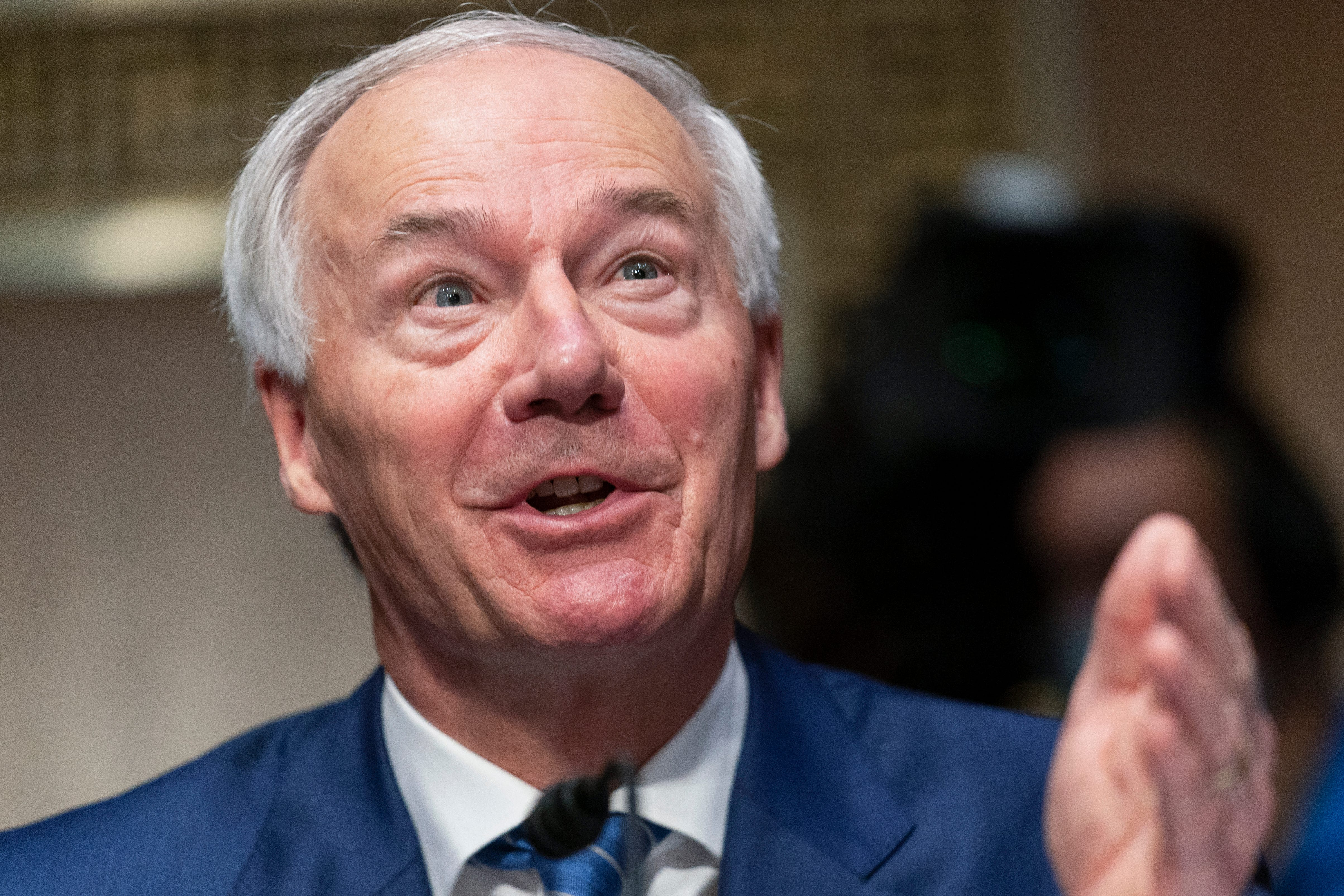 Arkansas Gov. Asa Hutchinson said aid was needed but the $350 million for states and cities was too much.