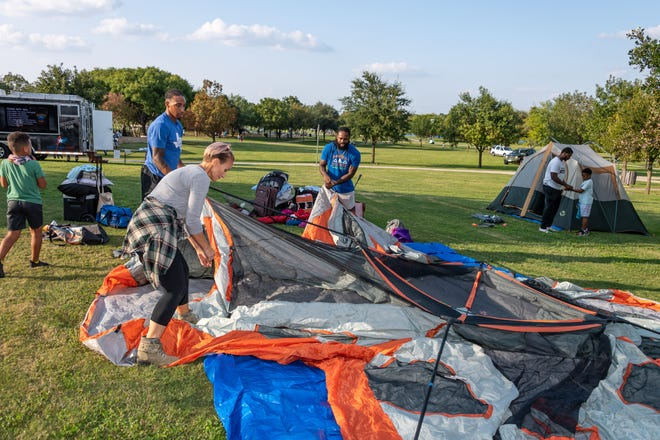 Even in the early months of the COVID-19 pandemic, the city of Round Rock committed to keeping its parks open and residents, including at the Family Campout in September at Old Settlers Park.