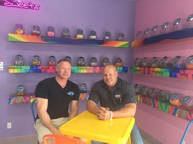 From left, brothers David and Jacob Proffitt have added another local business. G Herdt's Donut & Shanda's Sweets will open 7 a.m. Tuesday at 2401 Vine.