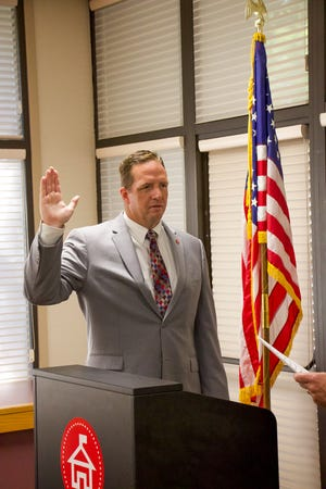 Dr. Troy A. Brown was sworn in as the 27th San Joaquin County superintendent of schools July 1.