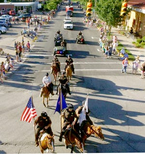 White Pigeon Days will take place July 9-11, opening with the traditional parade.