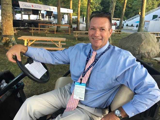 PGA Tour vice president of rules, competition and administration, Gary Young of Millbury.