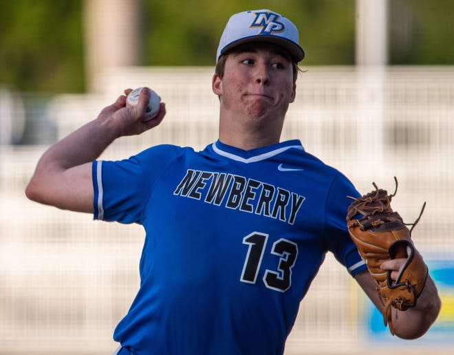 Newberry's Justen Crews is the Gainesville Sun Baseball Player of the Year.