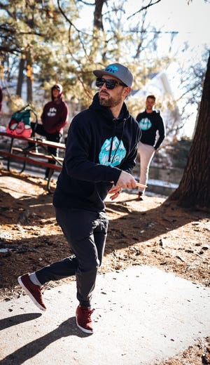 Tyler Tannatt of Ankeny is managing this week's Disc Golf Pro Tour stop in Indianola and the Des Moines Challenge disc golf tournament at several metro area locations, July 9-11, 2021.