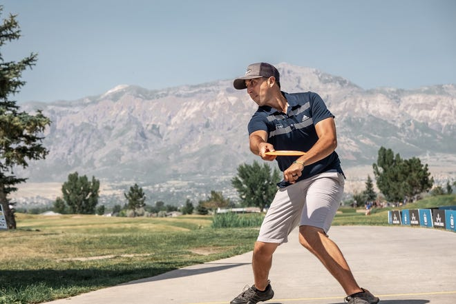 Paul McBeth is one of the elite professional disc golf athletes competing in this week's Disc Golf Pro Tour stop in the Peoria area, Aug. 5-8.