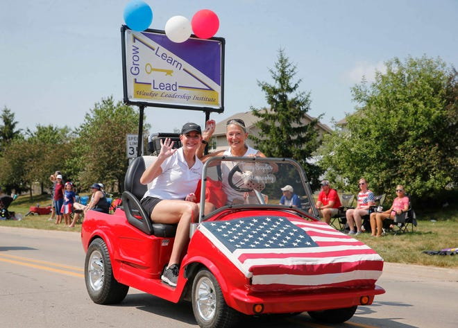 The Waukee LeadershipInstitute participates in the Waukee Celebration of Independence parade on Saturday, July 3. The institutewill recognize community leaders during areceptionfrom 5:30 to 8 p.m. July 15 at KinshipBrewery,255 NW Sunrise Drive.