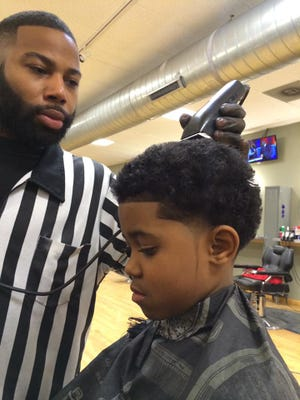 """Yosef Timms, known as """"Jay Da Barber,"""" worked at Gee's Clippers for about six years."""