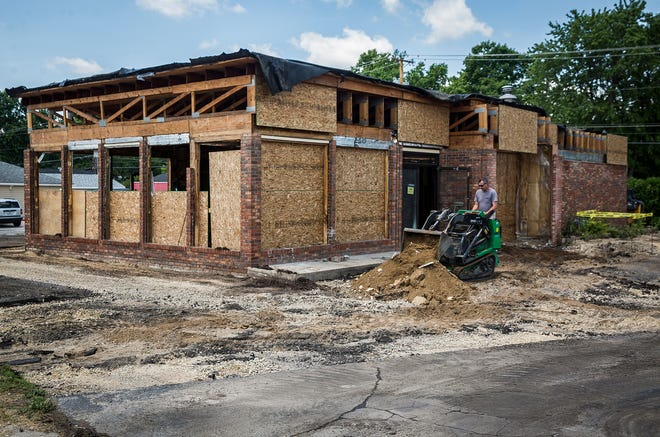 A former shoe store at 720 W. McGalliard Road will be the new site of a Chipotle.