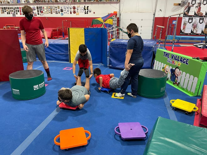 The STEM Outreach Center at New Mexico State University has partnered with several community organizations, including Gym Magic, to offer fun and free activities for area students during the summer.