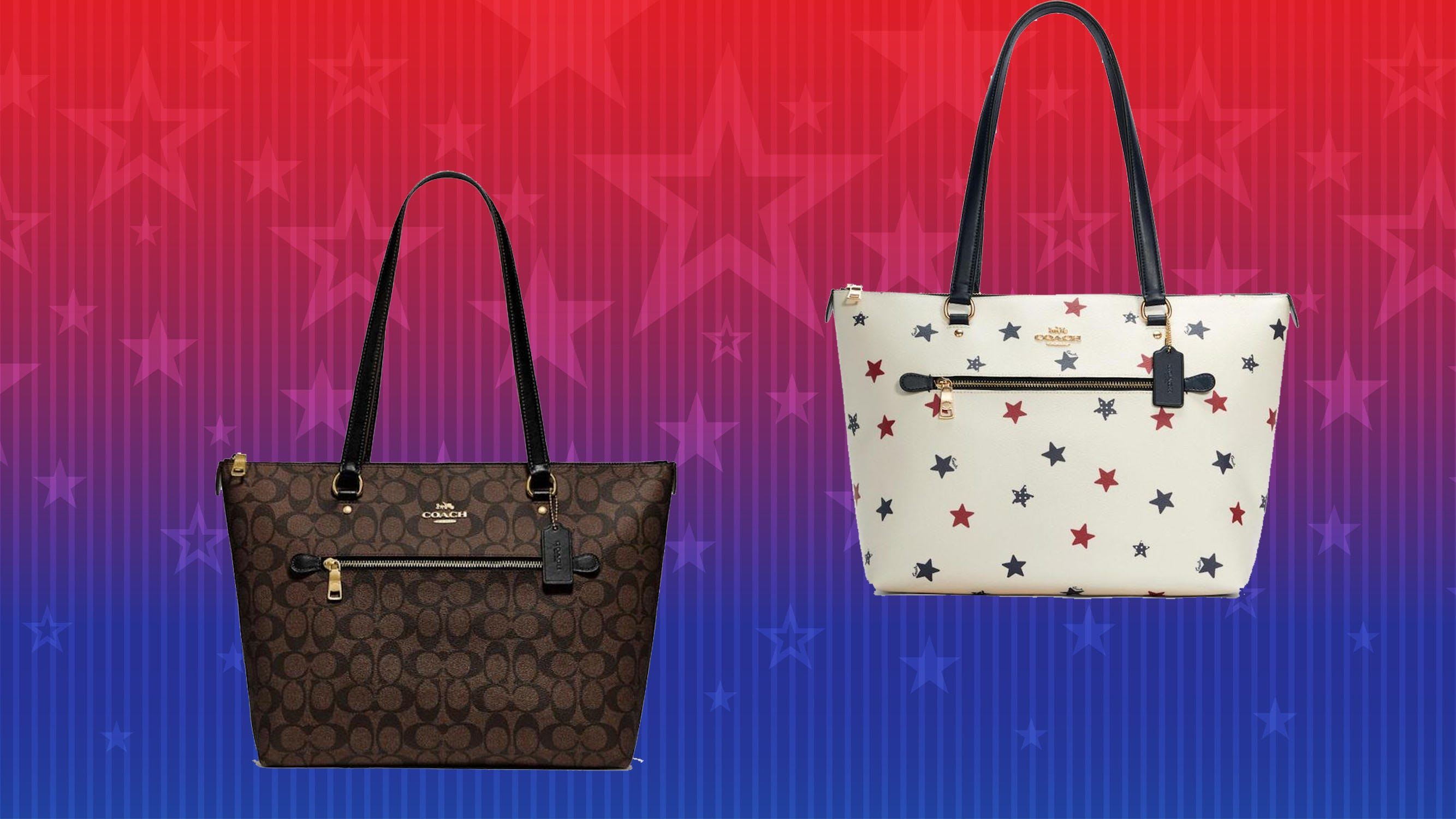 Coach Outlet purses are on mega-clearance right now for this 4th of July sale