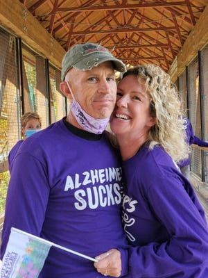 Peter Marshall was diagnosed with Alzheimer's disease at the age of 53.