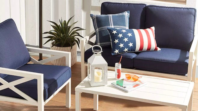 Ring in the Fourth of July with patio furniture deals galore during Bed Bath & Beyond's 4th of July sale.