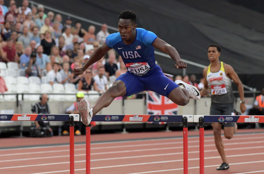 It's all business when Kenny Selmon is competing, but track star plans to find a balance in Tokyo
