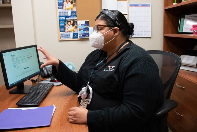 Brenda Wilson is a verified Medicaid application counselor at Variety Care clinic. She helps clients in Anadarko, El Reno and Oklahoma City fill out the online application. Wilson said clients are often confused by the wording when trying to fill it out themselves and give up, which is why the clinic has counselors to help.