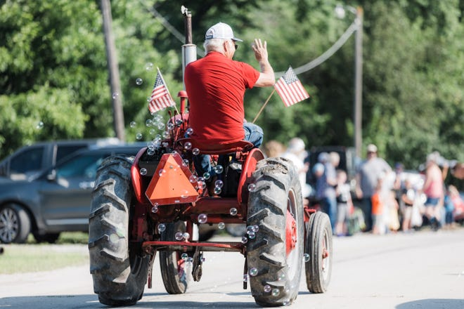 Vehicles of all kinds took to the street during the Caney Valley Independence Day Parade on Saturday, July 3.