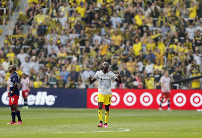 Crew forward Gyasi Zardes has made 62 appearances for the national team, scoring 14 goals with 10 assists.