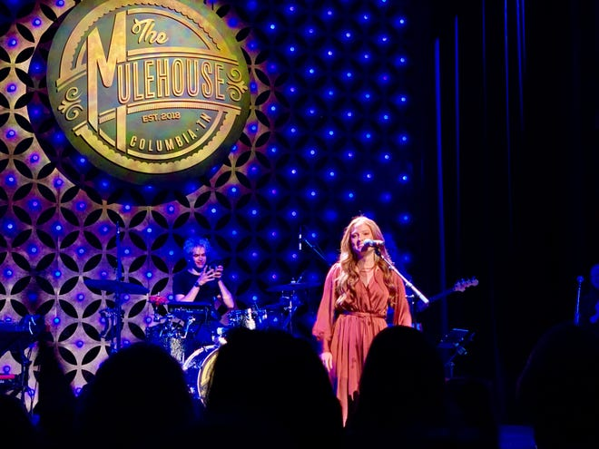 """Cassandra Coleman headlines her first sold-out hometown concert Saturday at The Mulehouse following her recent run on """"American Idol,"""" where she finished as a Top 10 finalist."""